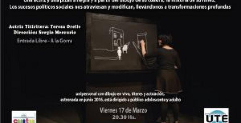 "OBRA DE TÍTERES PARA ADULTOS: ""COGHLAN"" - 2017"