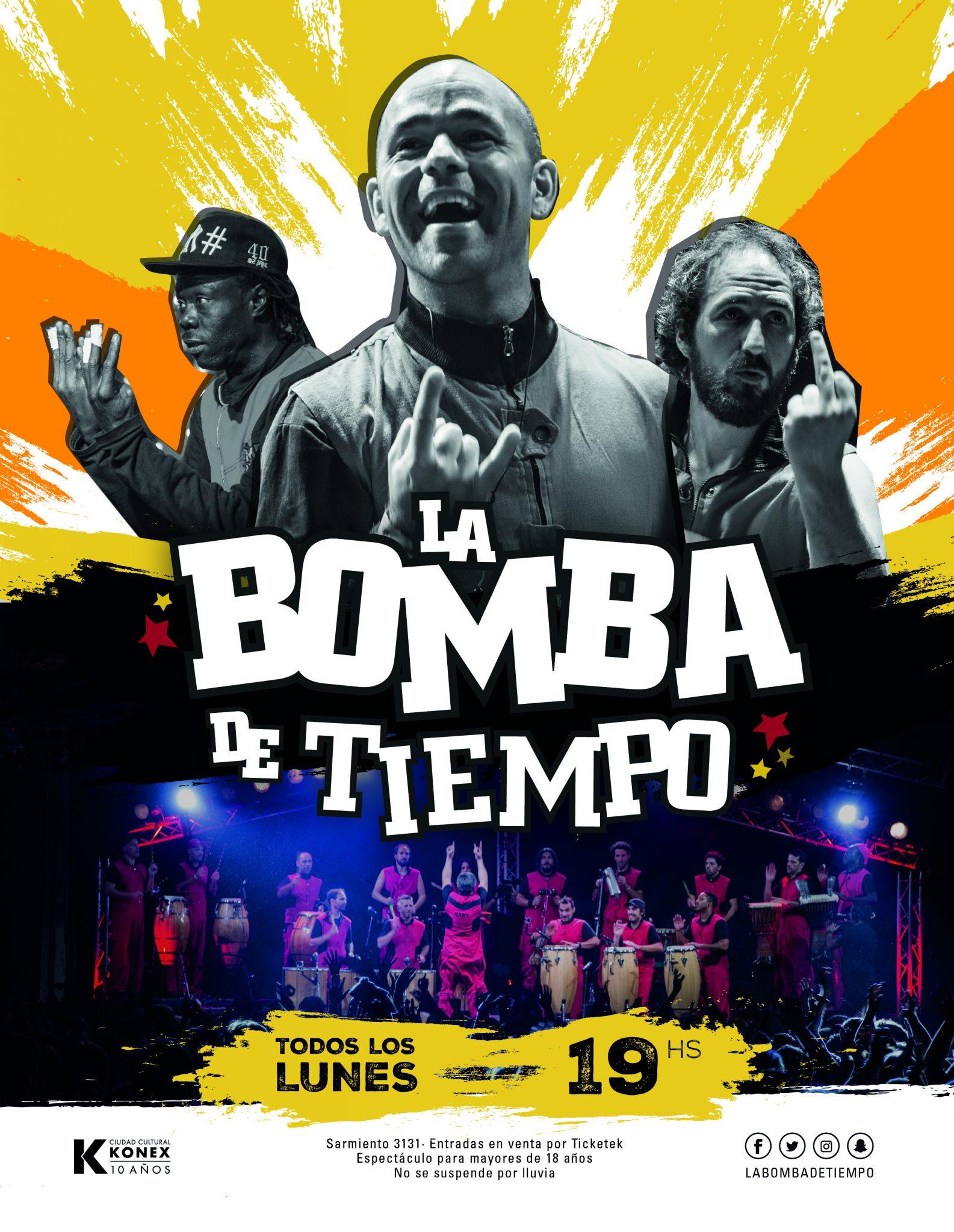 LA BOMBA DE TIEMPO - 2X1 para AFILIAD@S a UTE-Ctera