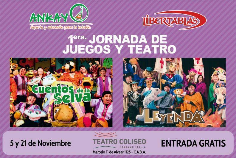 1° Jornada de Juegos y Teatro