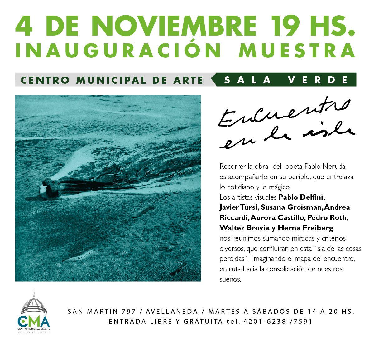 Encuentro en la Isla. Exposición de Artistas Visuales