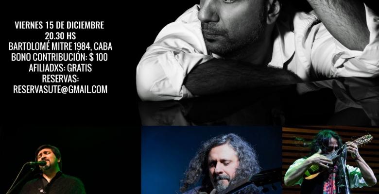 MÚSICA EN EL AUDITORIO. FACUNDO RAMÍREZ - Viernes 15 de diciembre - 20.30 Hs