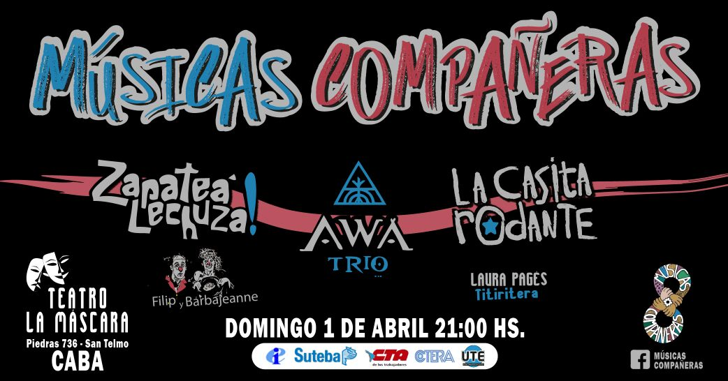 MUSICAS COMPAÑERAS - 1 DE ABRIL