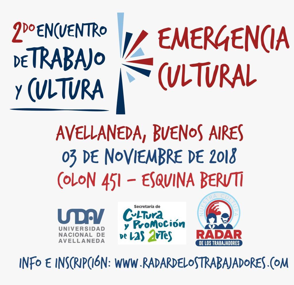 2do encuentro de Cultura y Trabajo