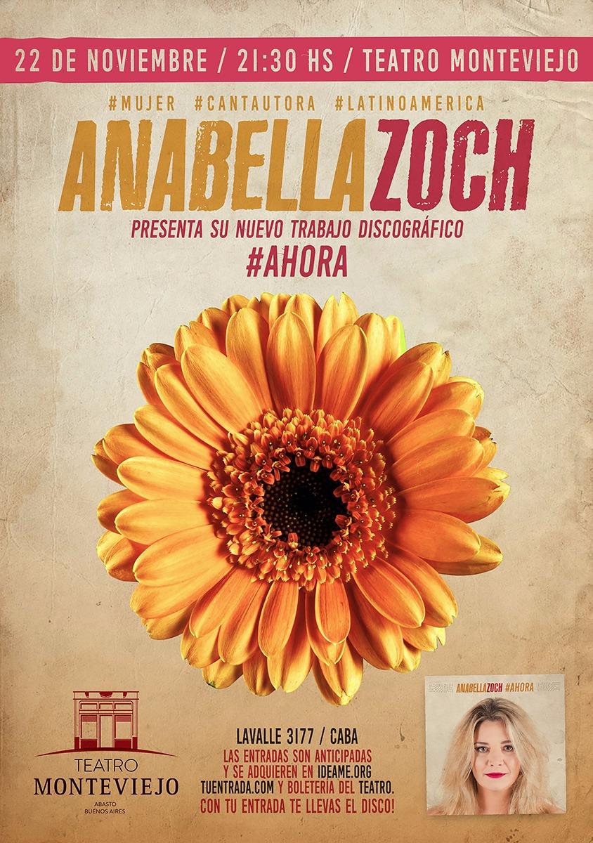 Anabella Zoch presenta su nuevo disco: #AHORA - Convenio con UTE