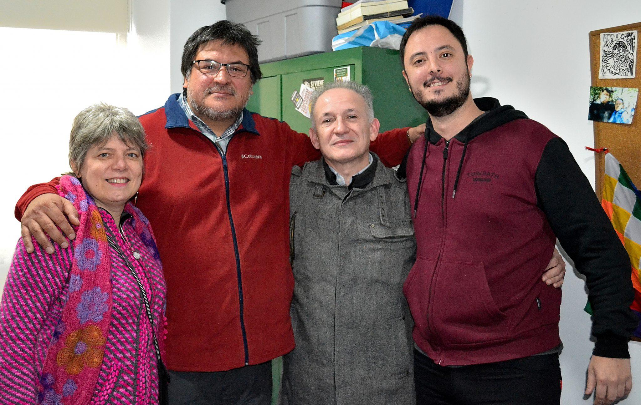 """Encuentro con Francisco """"Tete"""" Romero."""