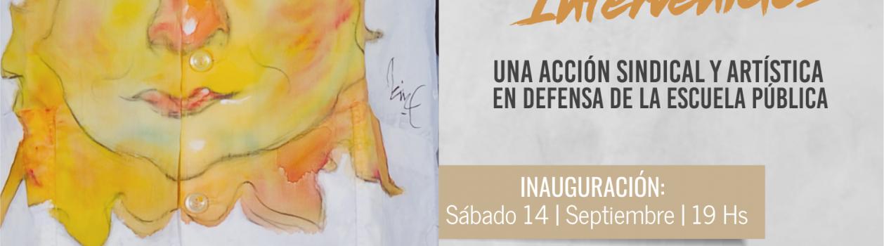 """""""La piel de la escuela pública."""" Guardapolvos intervenidos en el Centro Municipal de Arte de Avellaneda – Sábado 14 de Septiembre – 19hs."""