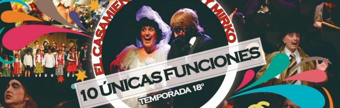 El Casamiento de Anita y Mirko – CONVENIO con el Circuito Cultural Barracas – 10% de descuento.