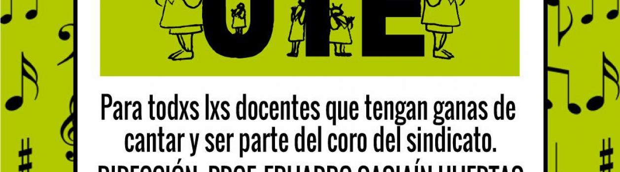 CORO DE LA UTE 2018