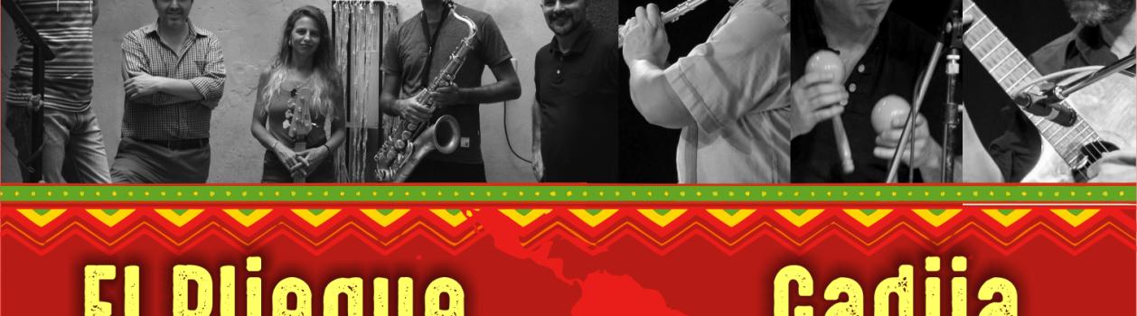 El Piegue + Gadija Ensamble – Viernes 17 de Mayo en UTE – 20:30hs