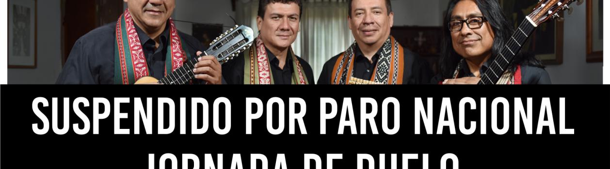 Los Cholos – ESPECTÁCULO SUSPENDIDO POR PARO NACIONAL DOCENTE
